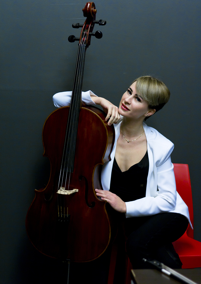 Cello Lady виолончелистка Киев. Фото 1