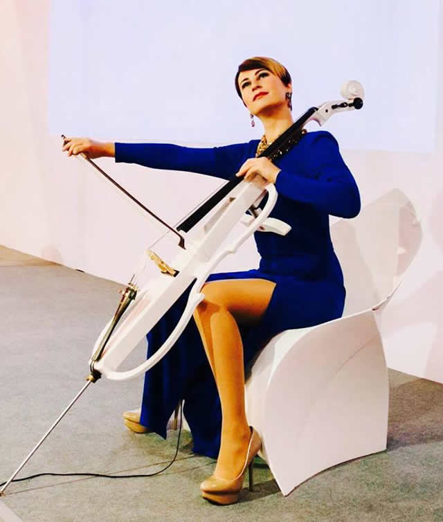 Cello Lady виолончелистка Киев. Фото 4