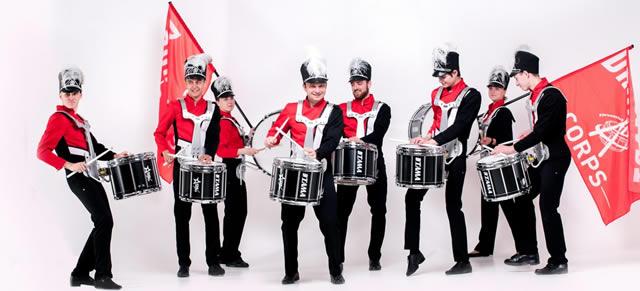Ансамбль барабанщиков Киев